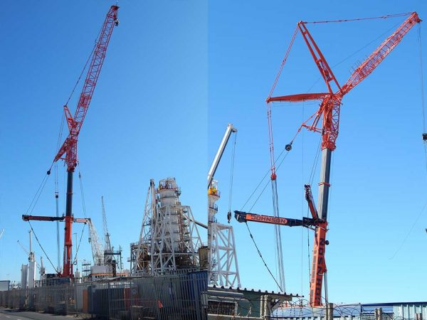 JOHNSON CRANE HIRE MAKES LIGHT WORK OF HEAVY LIFT