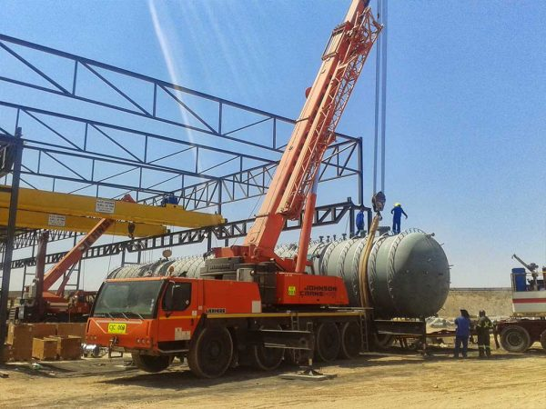 MAMMOTH LIFTING PROJECTS ARE SEAMLESS OPERATIONS FOR JOHNSON CRANE HIRE